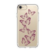 "Чехол-накладка Speck Presidio + Print для iPhone 7, дизайн ""brilliant butterflies rose gold/clear"" (79991-5947)"