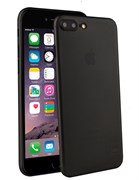 Чехол-накладка Uniq для iPhone 7 Plus/8 Plus  Bodycon Translucent (Цвет: Чёрный)