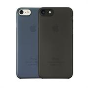 "Набор из двух чехлов-накладок Ozaki 0.3 Jelly для iPhone 7, цвет ""черный""+""тёмно-синий"" (OC720KD)"