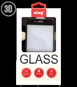 Защитное стекло Ainy Tempered Glass 2.5D 0.2 мм для iPhone 7 Plus (Весь экран, 3D, черное) AF-A1012A/AF-A563A