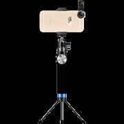 """Монопод Noosy King Kong Selfie Stick, премиальный набор 3 в 1, цвет """"черный"""" (BR12)"""