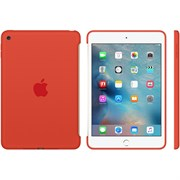 "Чехол-накладка Apple Silicone Case для iPad mini 4, цвет ""Оранжевый"" (MLD42ZM/A)"