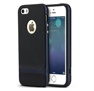 "Чехол-накладка Rock Royce Case для iPhone 5/5s/SE, цвет ""синий"""