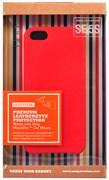 "Чехол-накладка Uniq для iPhone SE/5S Outfitter Red , цвет ""красный"" (IPSEHYB-OFTRRED)"