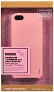 "Чехол-накладка Uniq для iPhone SE/5S Outfitter Red , цвет ""Розовый"" (IPSEHYB-PASPNK)"