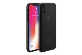 Чехол-накладка Just Mobile TENC для iPhone X (цвет прозрачно-черный)