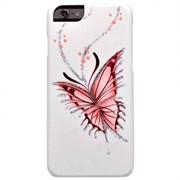 """Чехол-накладка iCover iPhone 6/6s HP Happy Butterfly, дизайн бабочки, цвет """"белый"""" (IP6/4.7-HP/W-HB)"""
