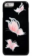 "Чехол-накладка iCover iPhone 6/6s HP Happy Butterfly, дизайн бабочки, цвет ""черный"" (IP6/4.7-HP/BK-PB/P)"