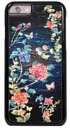 """Чехол-накладка iCover iPhone 6/6s Plus Mother of Pearl, дизайн """"цветы"""" (IP6/5.5-MP-BK/PT04)"""