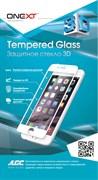 Защитное стекло ONEXT Tempered Glass 3D 0.3 мм для iPhone 7/8