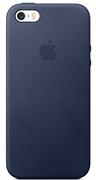 Чехол-накладка  силиконовый для iPhone 5/5s/SE цвет «Синий» (MKX32FE)