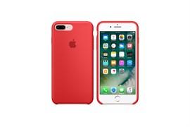 Чехол-накладка  силиконовый для iPhone 7 Plus/8 Plus цвет «Красный»