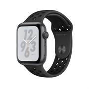 """Apple Watch Series 4 Nike+ 40mm """"Чёрный"""" (с перфорацией)"""