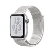 """Apple Watch Series 4 Nike+ 40mm """"Белый"""" (с белым нейлоновым ремешком) - копия"""