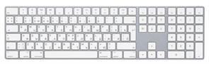 """Клавиатура Apple Magic Keyboard with NumPad, """"White"""" (MQ052RS/A)"""