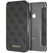 "Чехол-Книжка Guess iPhone XS Max 4G Charms collection Booktype ""Grey"" (GUFLBKI65GF4GGR)"