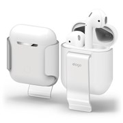 Чехол Elago для AirPods Carrying clip (Прозрачный) (EAP-CLIP-TR)