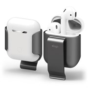 Чехол Elago для AirPods Carrying clip (Серый) (EAP-CLIP-MDG)