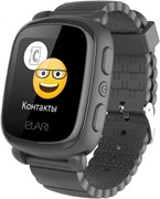 Elari KidPhone 2 часы-телефон, черные (KP-2-BLACK)