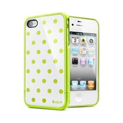Чехол SGP Linear Biskitt Series Case Green iPhone 4 / 4S