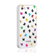 Чехол More Cubic Collection Cat для iPhone 4 4s