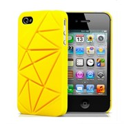 Чехол Coin 4 Yellow для iPhone 4/4S