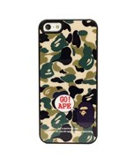 Чехол A Bathing Ape Go Ape Green Camo для iPhone 5