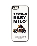 Чехол A Bathing Ape Chocoolate Baby Milo для iPhone 5
