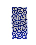 Чехол Blue Vines Flower Case для iPhone 5