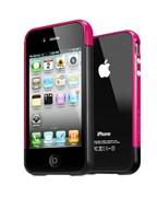 Бампер SGP Case Linear EX Meteor Soul Black для iPhone 4/4S