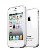 Бампер SGP Case Linear EX Meteor Satin Silver для iPhone 4/4S