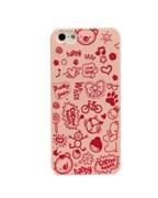 Чехол Fashion Little Witch Series Pink для iPhone 5