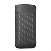 Чехол кожаный Ozaki O!coat Nature Lighting серебряный для iPhone 5