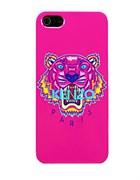 Чехол Kenzo KZ Tiger Pink розовый для iPhone 5