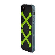 Чехол SwitchEasy Bones Gray/Green Серый/Зеленый для iPhone 5