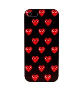 Чехол накладка Play Comme Des Gargons Black Heart для iPhone 5