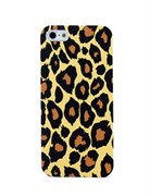 Чехол накладка Leopard Case Yellow для iPhone 5