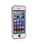 Бампер сборный двойной White/Pink для iPhone 5