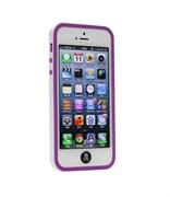 Бампер сборный двойной White/Purple для iPhone 5