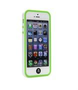 Бампер сборный двойной White/Green для iPhone 5