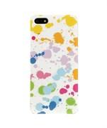 Пластиковый чехол Color Splash для iPhone 5