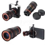 Телескоп-объектив для Смартфонов Samsung и Iphone 4/5/5s/6/6+
