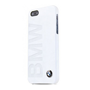 Чехол-накладка BMW для iPhone SE/5/5S Logo Signature Hard White