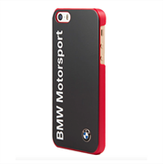 Чехол-накладка BMW для iPhone SE/5/5S Motorsport Hard Logo Navy