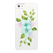 Чехол-накладка для iPhone SE/5/5S iCover Flowers SG01