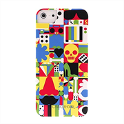 Чехол-накладка для iPhone SE/5/5S iCover Craig&Karl Design1