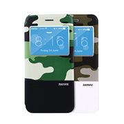 Чехол-книжка Remax Aimer Series Military Design для iPhone 6/6s Plus+