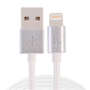 Кабель HOCO Lightning-USB Data Cable Metal Knitted для iPhone/ iPad 120cм