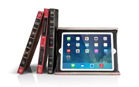 Чехол-книжка на молнии Twelve South BookBook (Rutledge) для iPad mini /2/3
