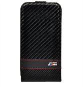 Чехол-флип BMW для iPhone 6/6s M-Collection Flip Carbon